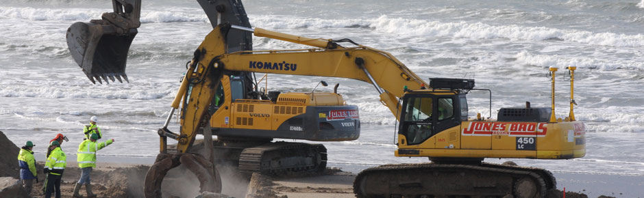 Tywyn-Sea-defence-work